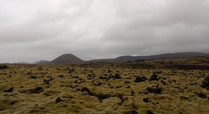 Mar de lava en el sur de Islandia